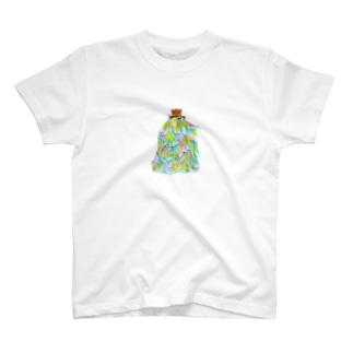 もさおとちびちゃん Tシャツ