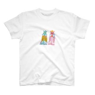 チッチュ夫妻 Tシャツ
