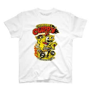 "Champion's Curry×KENTOO ""HOT ROD"" Tシャツ"