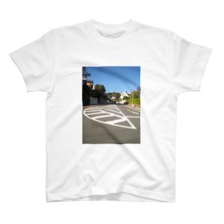 床の線 Tシャツ