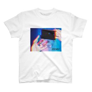 Cassette tape Tシャツ