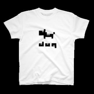 takoshiのdog Tシャツ