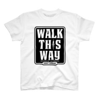 WALK THIS WAY Tシャツ