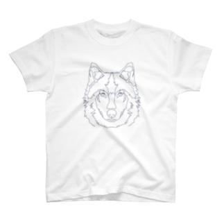 ニホンオオカミ Tシャツ