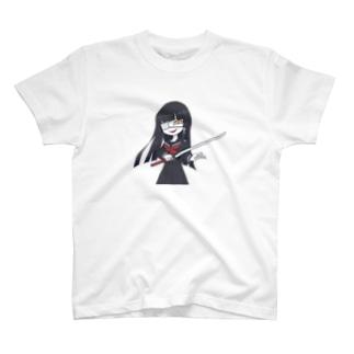 カタナちゃん その2 Tシャツ