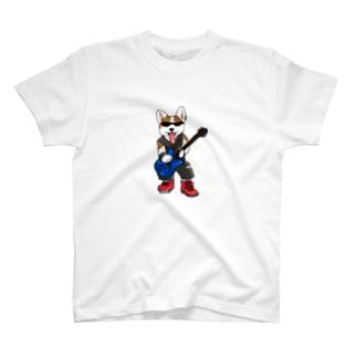 ギターコーギー Tシャツ