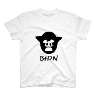 BtDN白背景ver Tシャツ