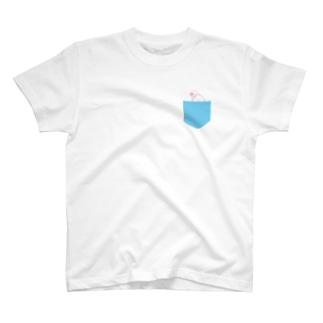 ぶんちょうポケット Tシャツ