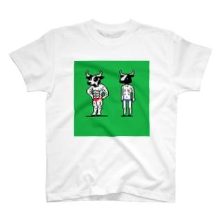 ムキタウロスとガリタウロス Tシャツ