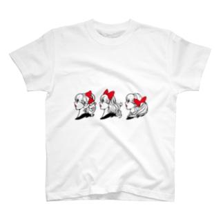 リボントリオ Tシャツ