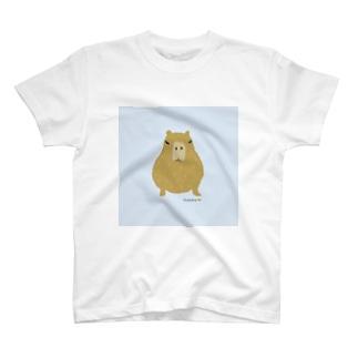 カピバラこども Tシャツ