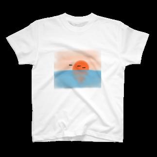 KIMAMALIFEのあの日の思い出Tシャツ