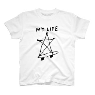 MY LIFE Tシャツ