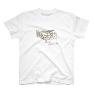 住宅地 Tシャツ