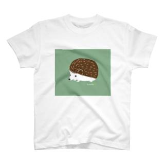 ハリネズミのチョコ Tシャツ