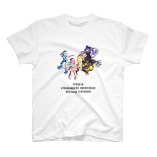 nuwtonの魔法少女Tシャツ