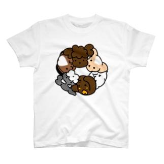 グルグルわんこ Tシャツ