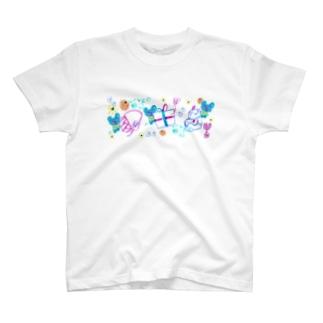 プレゼントのゆめみたの Tシャツ