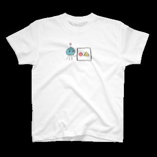 おかゆの宇宙人先生Tシャツ