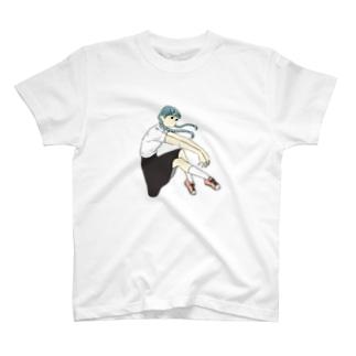 おさげの子2 Tシャツ