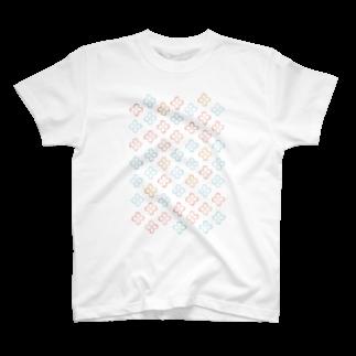 一束の結び目Tシャツ