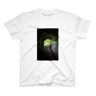 廃線隧道 Tシャツ