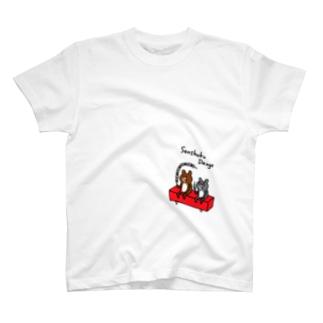 ロング三色団子 Tシャツ
