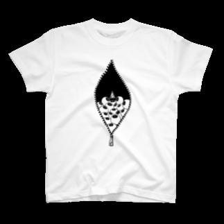 anica storeのmie+anica ver.02Tシャツ