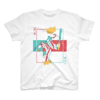 KING&QUEEN Tシャツ