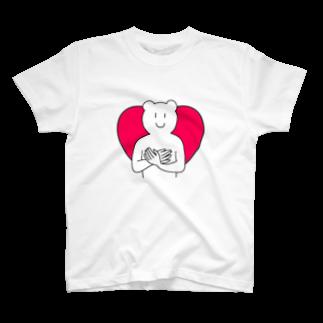 KIMAMALIFEの愛情溢れるくまさんTシャツ