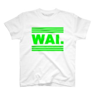 WAIT(グリンロゴ) Tシャツ