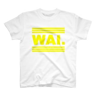 WAIT(イエロゴ) Tシャツ