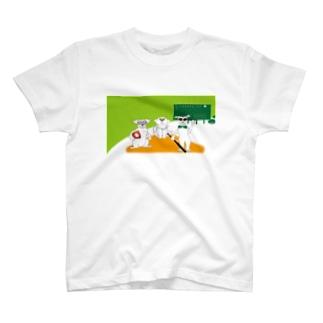 犬とベースボールのガンバgoods Tシャツ