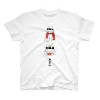 Bad cat Tシャツ
