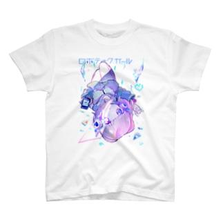 ロボティックガール+. Tシャツ
