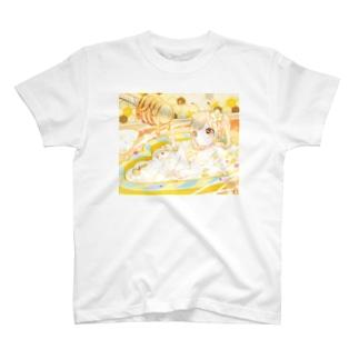 はちみつモーテル+. Tシャツ