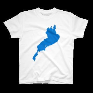 釣活の琵琶湖Tシャツ