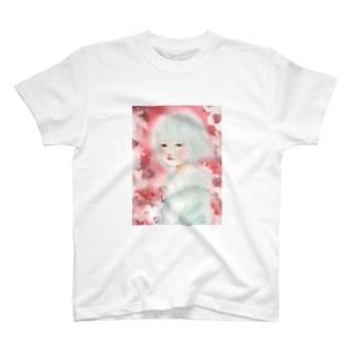 赤い春 Tシャツ