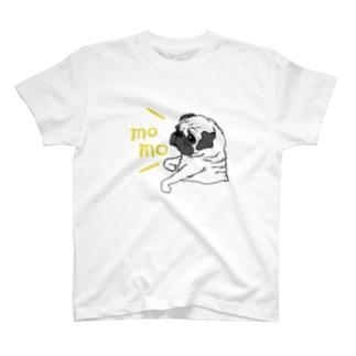 名入れ ファーンパグ Tシャツ