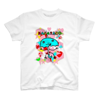 にっこり傘太郎 Tシャツ