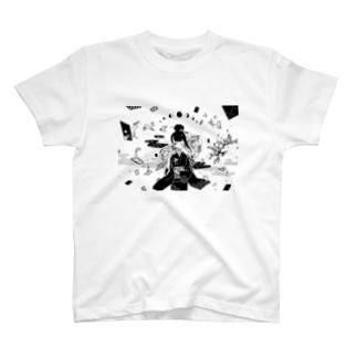 花札 Tシャツ