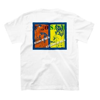 アロvsステゴ T-shirts