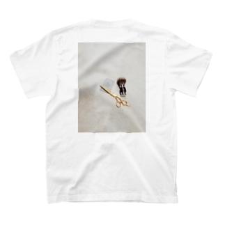barberSii.. ハサミ T-shirts