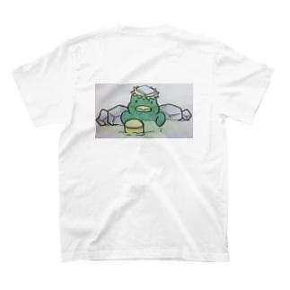 おっきなお風呂♨️インふろエンサーのおふろどっとこむキャラクター「ふろざわ♨️ゆざえもん」 T-Shirt