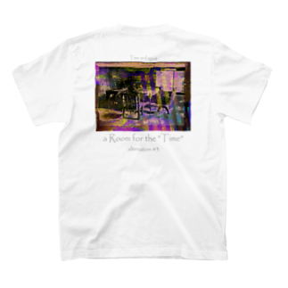 """Kazumichi Otsubo's Souvenir departmentのa Room for the """"Time"""" ~ Alteration #3 T-shirtsの裏面"""