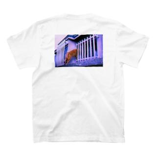 "猫-NNSS-2019""nekonozoki2"" T-shirts"