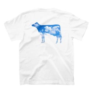 空柄T(バックプリント) T-shirts
