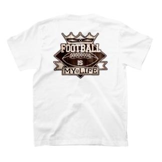 FIMLエンブレム 背面印刷 T-shirts