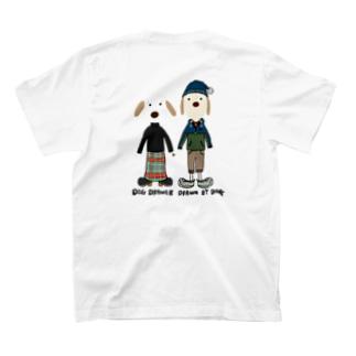 謎キャラ。ポンポンニット帽 T-shirts
