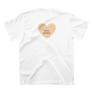 I LOVE HEDGIE T-shirts